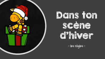 FRENCH Christmas Conversation Game BUNDLE (Gr.4/5 CORE French)