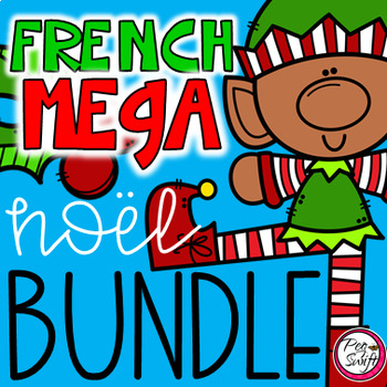 FRENCH Christmas MEGA BUNDLE