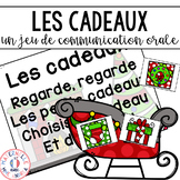 FRENCH Christmas Oral Communication Game - Jeu de communication orale Noël