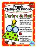 FRENCH Christmas Reader Mini-Book: L'arbre de Noël