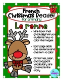 FRENCH Christmas Reader Mini-Book: Le renne