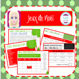 FRENCH:  Christmas Vocabulary Games