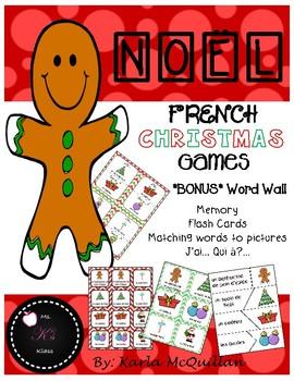 FRENCH Christmas Games: Les jeux de Noël
