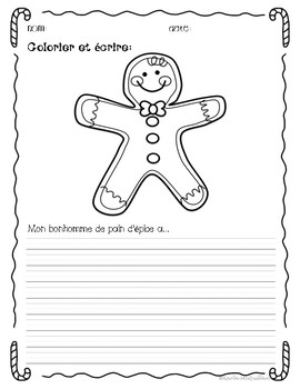 FRENCH Christmas worksheets and activities: Les activités de Noël