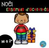 FRENCH {Christmas}MegaPack/ Noël {affiches et activités}
