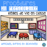 FRENCH Class Rules Posters, Activities/ Règles de vie (Aff