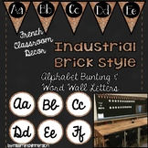 FRENCH Classroom Decor - Alphabet Bunting & Word Wall Letters