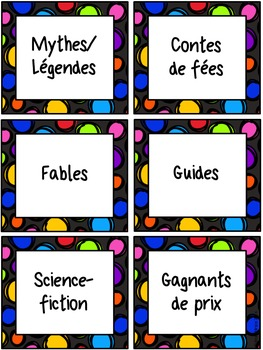FRENCH Classroom Organization Set- Editable
