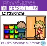 FLASH freebie! FRENCH Clean up routine/ Routine du rangement