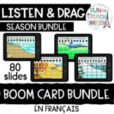 French Boom Cards - Coding Seasonal Bundle