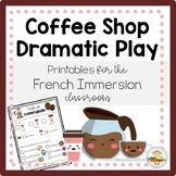 FRENCH Coffee Shop Dramatic Play Printables