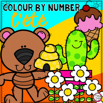 FRENCH Colour by Number