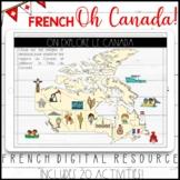 FRENCH DIGITAL CANADA DAY ACTIVITIES - FÊTE DU CANADA - GO