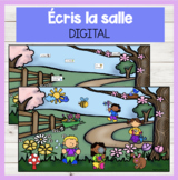 FRENCH DIGITAL Écris la salle PRINTEMPS Write the Room Goo