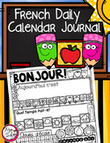 FRENCH Daily Calendar Journal