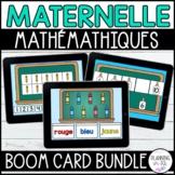 FRENCH Digital Math BOOM Cards™ Bundle Back to School | La