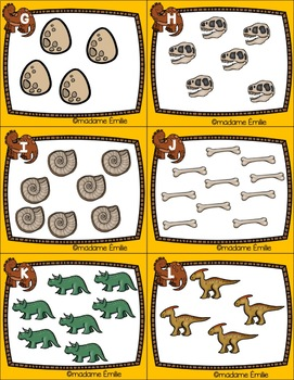 FRENCH Dinosaurs Count the room/ Cherche et compte (Dinosaures)