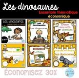 FRENCH Dinosaurs MEGA Bundle/ Ensemble économique [Dinosaures]