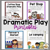 FRENCH Dramatic Play Printables Bundle