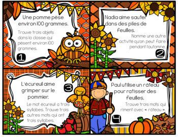 "FRENCH EARLY FINISHERS LA BOÎTE ""J'AI FINI!"" GROWING BUNDLE - ALL YEAR"