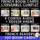 FRENCH EMERGENT READERS | FRENCH AUDIO BOOM CARDS - BUNDLE