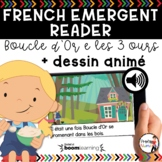 FRENCH EMERGENT READERS | FRENCH AUDIO BOOM CARDS - Boucle