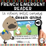 FRENCH EMERGENT READERS | FRENCH AUDIO BOOM CARDS - Le Vil