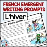 Écriture hiver - FRENCH WINTER WRITING PROMPTS
