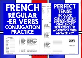 FRENCH -ER VERBS PERFECT TENSE