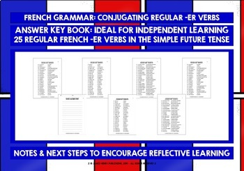 FRENCH -ER VERBS #3