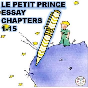 Le Petit Prince Essay Chapters 1-15