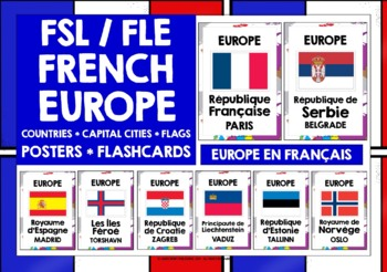 FRENCH EUROPE POSTERS