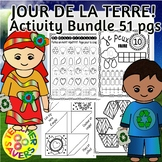 FRENCH Earth Day Activities Bundle No-Prep
