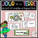 FRENCH Earth Day Coloring and Information Booklet/Livret du Jour de la Terre