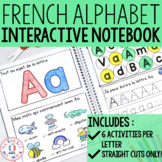 FRENCH Alphabet Interactive Notebook - Cahier interactif (maternelle)