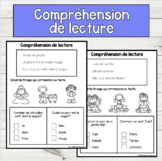 FRENCH Easy Reading Comprehension L'automne Compréhension
