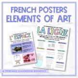 French Elements of Art - les fondamentaux des arts visuels