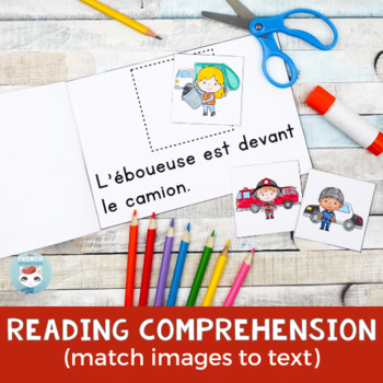 FRENCH Emergent Reader - DEVANT