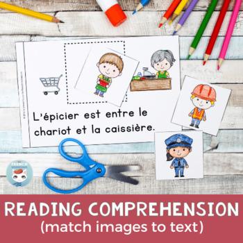 FRENCH Emergent Reader - ENTRE