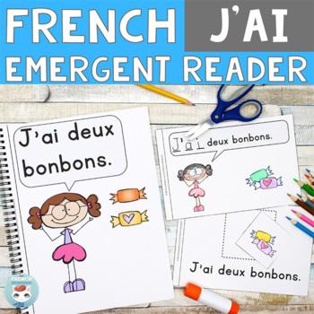 FRENCH Emergent Reader - J'AI
