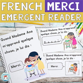 FRENCH Emergent Reader - MERCI