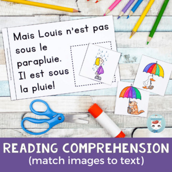 FRENCH Emergent Reader - SOUS