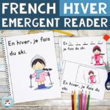 French Winter Emergent Reader | Livret pour l'hiver | French Hiver français