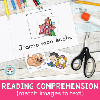 FRENCH Emergent Reader - J'AIME