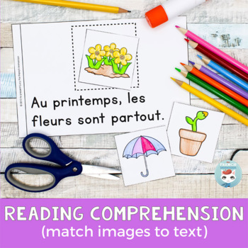 French Spring Emergent Reader | Printemps