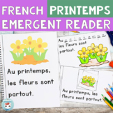 French Spring Emergent Reader | Le printemps