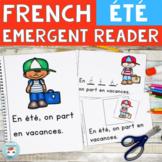 Été  FRENCH Emergent Reader SUMMER