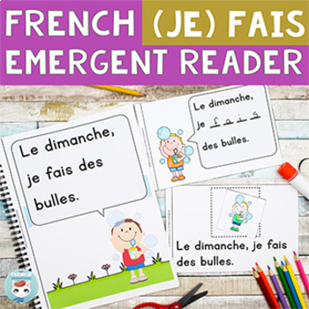 FRENCH Emergent Reader - je FAIS