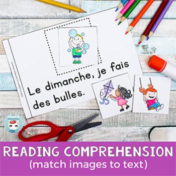 FRENCH Emergent Reader - je FAIS