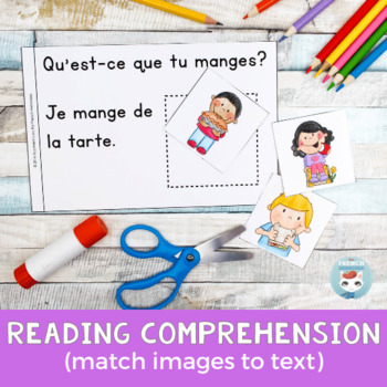 FRENCH Emergent Reader - je MANGE